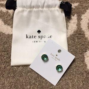 Kate Spade green/blue gumdrop earrings